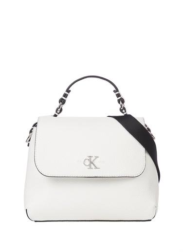 Calvin Klein Calvin Klein Beyaz Kadın Omuz Çantası Beyaz